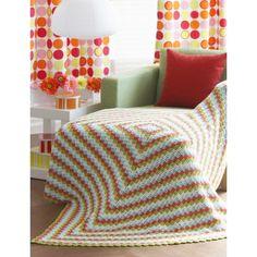Cottage Throw - Crochet Patterns - Patterns | Yarnspirations