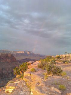 little rainbow at Toroweap