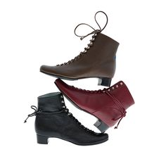 Stefi Talman - Lace up Boots, Ice Skate