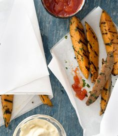 Garlicky Sweet-Potato Friesgoodhousemag
