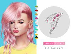 Elf Ear Cuff | TS4 | Phixil Sims