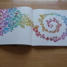 Johanna Basford | Picture by Gwendolyn | Colouring Gallery