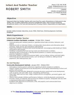 Infant Teacher Resume - If you're the pinnacle of a company and want to promote yourself to be able to look for a new career then a Infant Teacher Resumecan Medical Assistant Resume, Administrative Assistant Resume, Research Assistant, Manager Resume, Assistant Jobs, Job Resume, Resume Objective Statement, Resume Objective Examples, Good Resume Examples