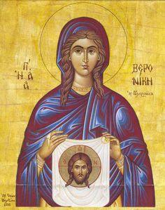 Orthodox Icon of Saint Veronica