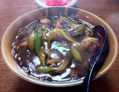 Curry Nanban Soba(三河家・飯田市)