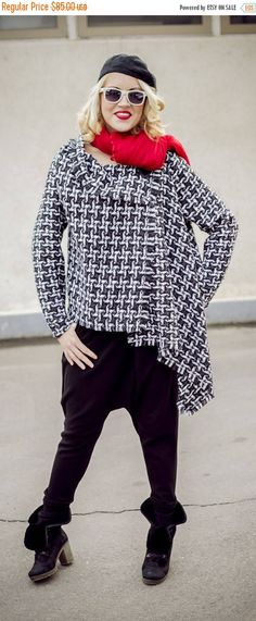 PURPLE SALE 15% OFF Asymmetrical Wool Plaid Jacket / Plaid https://www.etsy.com/listing/213517181/purple-sale-15-off-asymmetrical-wool?utm_campaign=crowdfire&utm_content=crowdfire&utm_medium=social&utm_source=pinterest