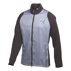 Puma Fluid Light Storm Golf Jacket Tradewinds