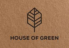 #logo House of Green par Kamil Piatkowski