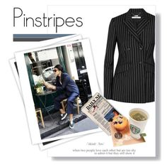 """pinstripes"" by theworldisatourfeet ❤ liked on Polyvore featuring GALA, Givenchy, polyvorecommunity, polyvoreeditorial and pinstripes"