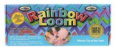 Rainbow Loom RLSt393 – Original Deutsches Starterset, NEU jetzt mit Metallnadel, 600 Bänder, 24 Clips, Webrahmen   Your #1 Source for Toys and Games