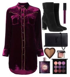 """""""I'll consider it"""" by tigerlily789 ❤ liked on Polyvore featuring Yves Saint Laurent, MICHAEL Michael Kors, Smashbox, MAC Cosmetics, Too Faced Cosmetics and Bobbi Brown Cosmetics"""