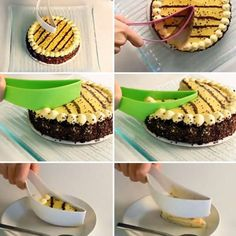 1pcs Cake Pie Slicer Cake Cutter Knife Usefull Small Cake Slicer Cutter DIY Cake Tools Kitchen Gadget Baking and Pastry - Ivy Mobile