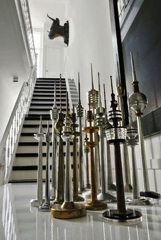 Townhouse Amsterdam Stairs TV Towers