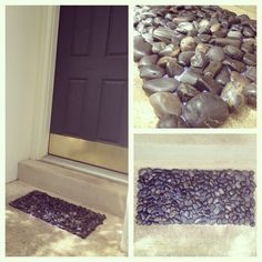 15 Best Mats Made With Stones Images In 2014 Stone
