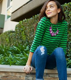 Ashley Madekwe Teams Up With BaubleBar. Adorbs, non?