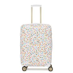 The Oh Joy! for CALPAK Travel Collection was inspired by adventure, both everyday and far away. We've create colorful suitcases and travel accessories to bring the party with you wherever you go, whether it's near, far, or somewhere in between. Calpak Luggage, Cute Luggage, Carry On Luggage, Luggage Sets, Hard Sided Luggage, Checked Luggage, Travel Party, Cute Bags, Travel Accessories