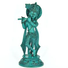 Beautiful Krishna Statue is 9 Inches tall. This statue is hand made in Nepal from Resin. Lord Krishna is known for divine joy, love. He is believed to removes pain and sin. Visit www.nirvanahandicrafts.com. Krishna Statue, Lord Krishna, Nepal, Buddha, Resin, Joy, Beautiful, Glee, Being Happy