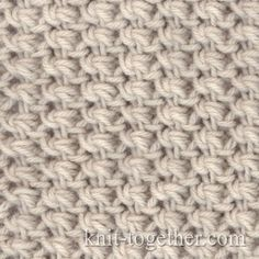 Fine Knitting Pattern 2 with needles, knitting pattern chart, Fine Knitting Patterns, Fabric Patterns- pretty allover stitch