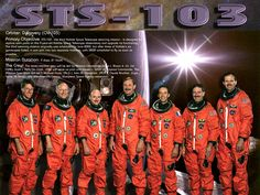 STS-103 Crew poster