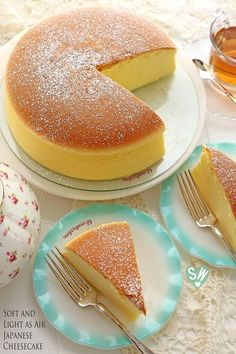 SugaryWinzy Soft and Light as Air Japanese Cheesecake                                                                                                                                                                                 More
