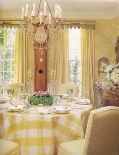 Beautiful English cottage dining room design ideas by The Devoted Classicist