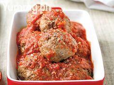 Italian Meatballs in Marinara Sauce