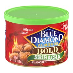 I love these almonds, they're the perfect treat! And whose doesn't like to kick it up a knock with a little Sriracha?? #SunshineVoxBox