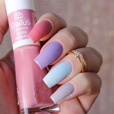 What Christmas manicure to choose for a festive mood - My Nails Best Acrylic Nails, Summer Acrylic Nails, Pastel Nails, Stylish Nails, Trendy Nails, Nagellack Trends, Dream Nails, Hot Nails, Perfect Nails
