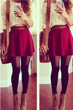 Essential Flared Skirt