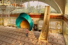 Sakirin Mosque, Turkey - Designed by a women.