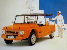 Citroen Mehari I could see me driving this! Citroen Ds, Psa Peugeot Citroen, Auto Journal, Chevy, 4x4, 2cv6, Beach Cars, Cabriolet, Kit Cars