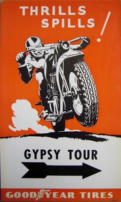 Vintage Moto Poster #vintage #motorcycle