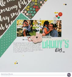 Daddy's Girl - Clique Kits @simplestories
