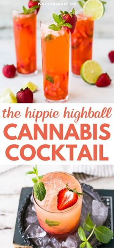 Fun Drinks, Alcoholic Drinks, Marijuana Recipes, Cannabis Edibles, Alcohol Drink Recipes, Health And Wellness, Wellness Quotes, Ice Cubes, Easy Meals