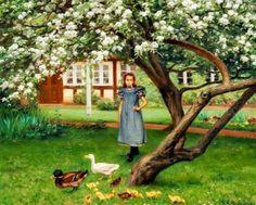 Peinture de Hans Andersen Brendekilde