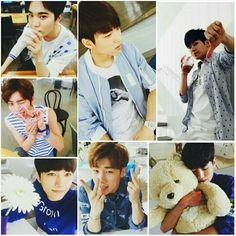 Pepsi Day - Infinite #Infinite #InfiniteF #InfiniteH #Sunggyu #Dongwoo #Woohyun #Hoya #Sungyeol #Myungsoo #Sungjong Myungsoo, Gyu, Pepsi, Angels, Infinite, Angelfish, Angel