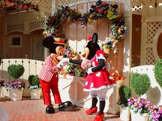 Mickey and Minnie on Flickr.