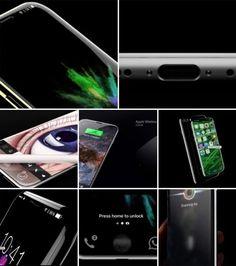 Revelan las primeras imágenes del iPhone 8