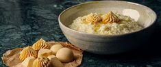 Butter hack med stjerneanis og appelsinskal Christmas Sweets, Grains, Rice, Butter, Hacks, Food, Essen, Meals, Seeds