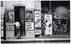 Cuba. Havana Cinema, 1933 // Walker Evans,  reproduced courtesy of the Getty Museum