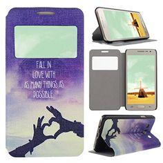 Asnlove para Samsung Galaxy A3 A300 elegante funda libro flip cover con ventana cuero de PU y policardonato rigida dura interno carcasa tapa s view estilo cartera diseño varios colores-Cielo corazon de mano Asnlove http://www.amazon.es/dp/B011KS9Z42/ref=cm_sw_r_pi_dp_LALJwb19BRKZ9