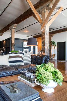 Inspired Vintage loft space – Greige Design