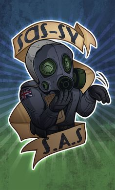 Sassy S.A.S CSGO Sticker by zombie on DeviantArt