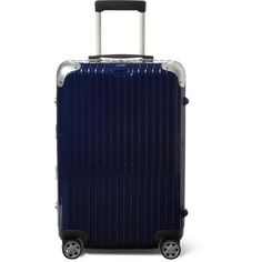 Rimowa Limbo Multiwheel 68cm Case (1,155 CAD) ❤ liked on Polyvore featuring men's fashion and blue