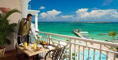 Enjoy a beautiful breakfast on your balcony