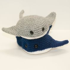 Baby Stingrays by Heartstringcrochet on DeviantArt