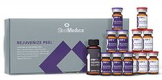 SkinMedica Rejuvenize Peel® now available at www.beforenafter.us.   The deepest of all SkinMedica® peels indicated for moderate to severe skin conditions including acne scarring and sun damage.   Rejuvenize Peel® Single  $225.00 Rejuvenize Peel® Series of Three    $600.00* Save 11% plus a FREE Lytera® Skin Brightening Complex.  Rejuvenize Peel® Series of Six  $1080.00* Save 10% plus a FREE TNS Essential Serum® and a Lytera® Skin Brightening Complex.  *All peels include a FREE Post Procedure…