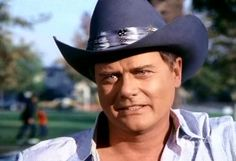 Larry Hagman ''JR Ewing In Dallas''