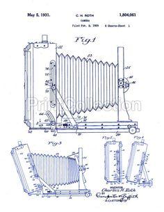PrintCollection - 8x10 Century Universal Camera, 1929