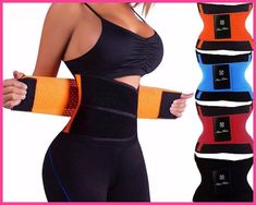 8d74fce077 hot shapers women slimming body shaper waist Belt girdles Firm Control Waist  trainer corsets plus size